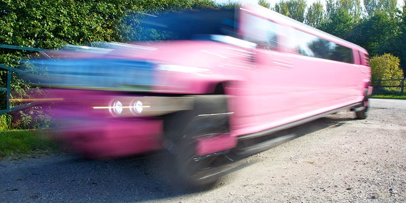 Pink Hummer limo hire services