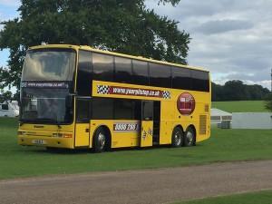 14 Berth Tour/Band Bus