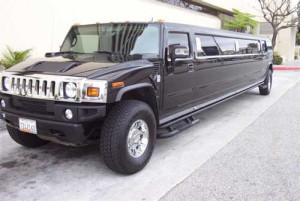 Black Hummer Limo - 13 & 16 seater