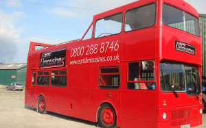 Open Top Party Bus & Advertising